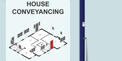 Solicitors premises advertising house conveyancing services